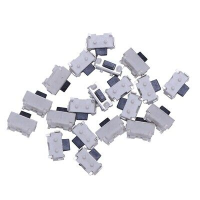 20PCS SMD 2Pins SPST Momentaneo Pulsador Mini Interruptor Tactil 4*2mm N3X4