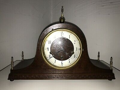 Antique Westminster chime clock.working.
