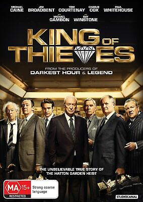 King of Thieves DVD Region 4 NEW // PRE-ORDER for 12/06/2019