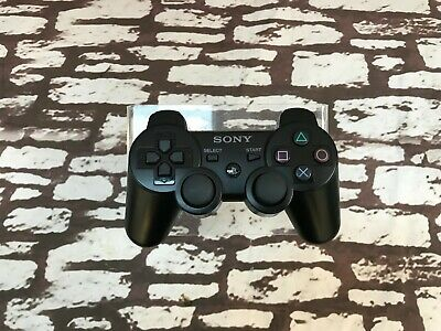 Official Sony Playstation Dualshock 3 SIXAXIS Controller - Black ##RECWHF166MM