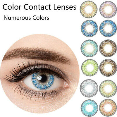 Fashion Vibrant Color Contacts Eye Lenses Color blends Cosmetic Makeup Eye Lens