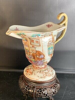 Rare Antique Chinese Canton Porcelain Cup 18th Century