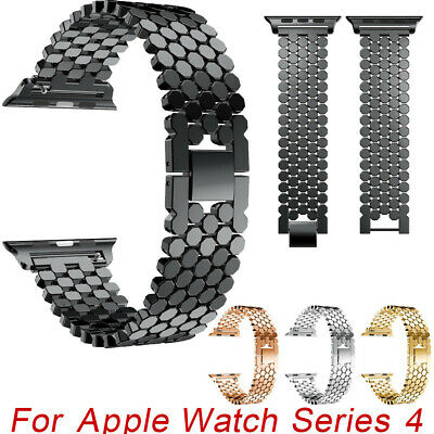 Correa Reloj Pulsera Acero inoxidable Recambio Para Apple Watch Series 4 40mm