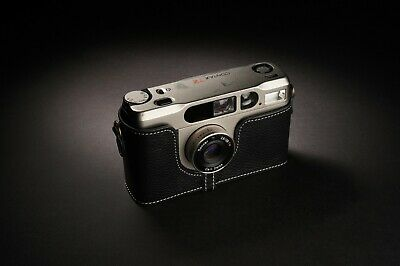 Genuine Real Leather Half Camera Case Bag Cover for Contax T2 Film Camera