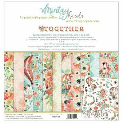 MINTAY - Together - 12x12 Scrapbook Collection Kit