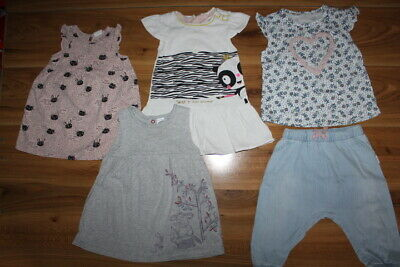 TU H&M Mothercare M&S girls bundle 6-9 months *I'll combine postage*(277)