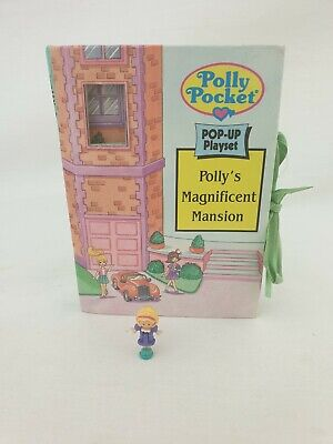 vintage polly pocket Polly's Magnificent Mansion 1996 by bluebird toys