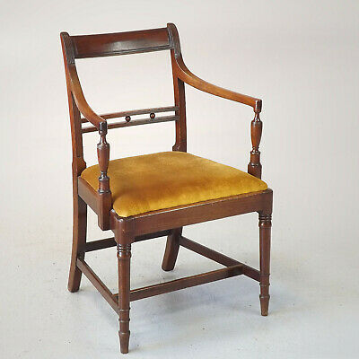 Antique Elbow Chair (delivery £40) Mahogany - C1830