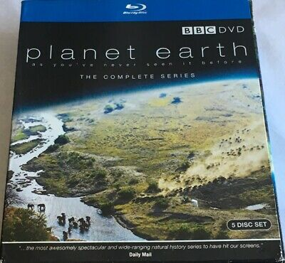 BBC DVD Planet Earth The Complete Series 5 Disc Set Blu Ray