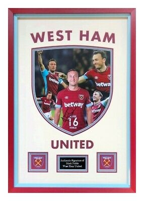 Mark Noble West Ham United Hand Signed Framed Photograph Display Authentic + Coa