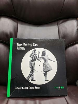 Time Life Box Set The Swing Era The Music Of 1938-1939 Book & 3 Records Stl 343