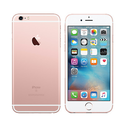 Apple iPhone 6s Plus 64GB Rose Gold Unlocked Mint