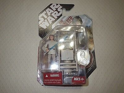 2007 Star Wars Luke Sky Walker (A New Hope with collector coin)