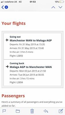 Return Flights From Manchester To Malaga For The Champions League Final Madrid