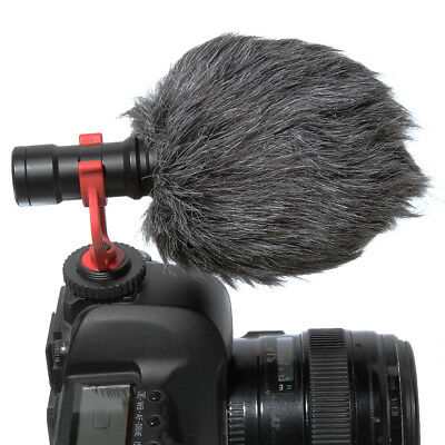 BOYA Shotgun Microphone Mic Universal for Iphone SE Plus Smart Cell Phone BY-MM1