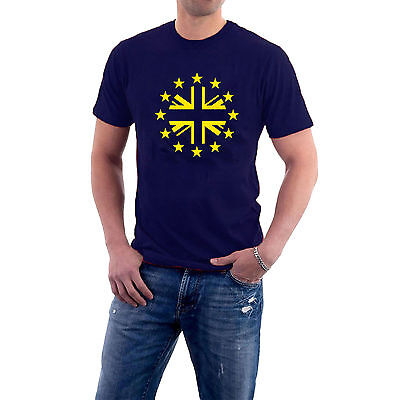 The Union Stars T-shirt. Britain Europe EU Remain Brexit Tee S-5XL Sillytees