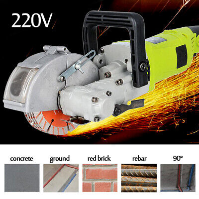 4KW Electric Wall Chaser Groove Cutting Machine Wall Slotting Machine 33MM 220V