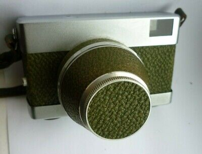 Carl Zeiss Tessar rare Green Werra 1 35mm classic. Film Tested VGC