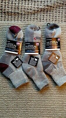 c6b32d80a2874 WOLVERINE MADE IN USA Mens Merino Wool Blend Hunting Socks Size 9-13 ...