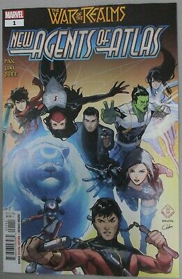 War of The Realms New Agents of ATLAS #1 1st App Wave NM/VF Pak Marvel Comics