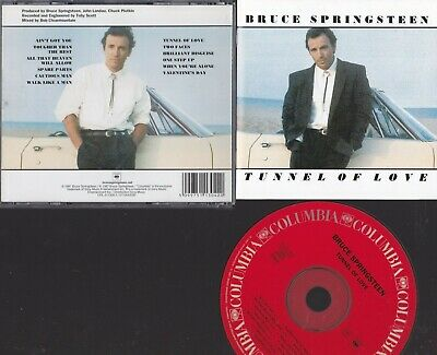 Bruce Springsteen : Tunnel Of Love : Columbia Label Cd Album