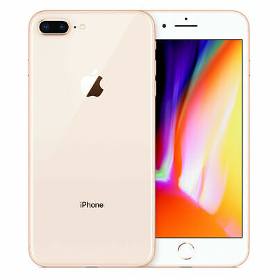 Apple iPhone 8 Plus - 64GB  - Gold - Unlocked - A1897 GSM Unlocked AT&T/T-Mobile