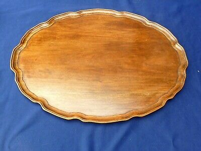 George Iii Mahogany Wooden Tray Vintage Antique Collectable Great Condition Old