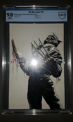 Old Man Logan #25 Mike Deodato Virgin Variant Sketch Cover With Bloody Claws...
