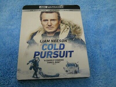 COLD PURSUIT 4K ULTRA HD + BLU RAY WITH SLIPCOVER SLEEVE with Digital Code