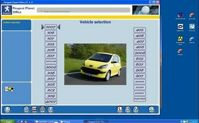 VMware PP2000 V25 & Lexia3 V48 Multilanguage for Peugeot Citroen Lexia interface