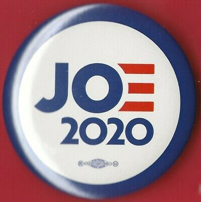 "2020 Joe Biden 2.25""/ ""JOE 2020"" Presidential Hopeful Campaign Button(Pin 04)"