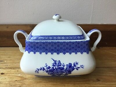 Churchill China Out Of The Blue Pattern Design Tureen Mary Gilliatt Pottery Dish