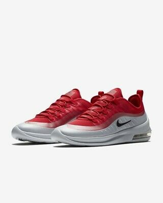 NIKE AIR MAX Axis Homme Chaussures Sport Baskets Rouge UK