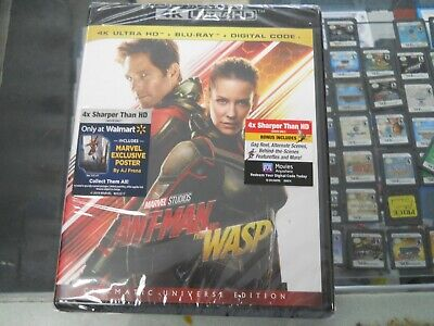 Ant-Man and the Wasp (4k Ultra HD/Blu-ray ) NO Digital