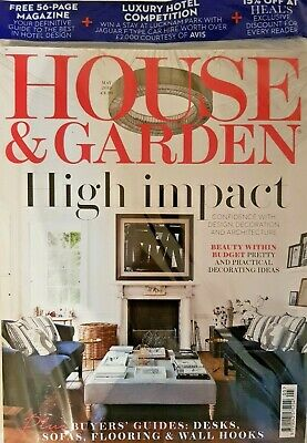 House And Garden Magazine May 2019 = Free 56-Page Guide To Best In Hotel Design