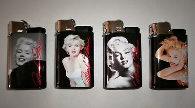 4 DJEEP Marilyn Monroe Lighters, up to 4000 lights