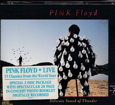 Pink Floyd ‎ Delicate Sound Of Thunder 2CD