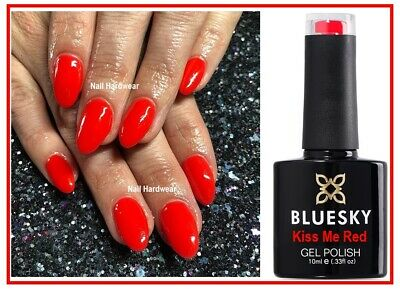 Bluesky Gel Kiss Me Red Bright Red Summer Special Edition UV LED Nail Gel Polish