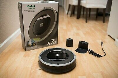 iRobot Roomba 870 Vacuum Cleaning Robot with Accessories