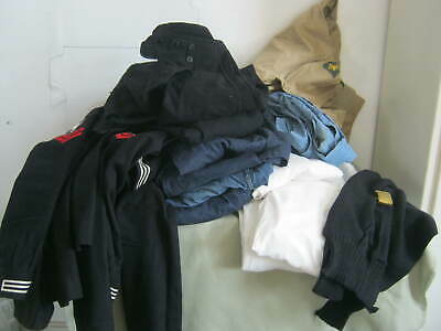 Huge Old Vintage Lot US Navy Military Clothing,  AS FOUND IN ESTATE