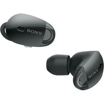 Sony WF-1000X Wireless Noise-Canceling Headphones (Black)  All Accessories Incl