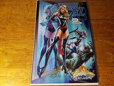 Captain Marvel #1 J. Scott Campbell Variant Cover B Signed w/ COA! SOLD OUT!