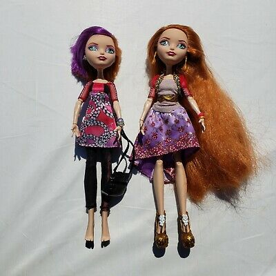 Ever After High Holly O'Hair and Poppy O'Hair Dolls Royal Set
