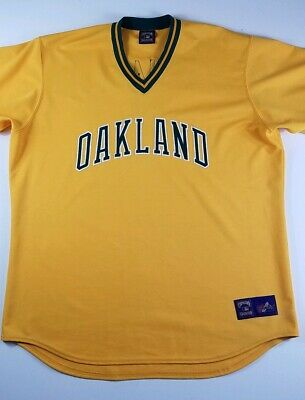 8095dfd9de2 VINTAGE OAKLAND ATHLETICS A s MAJESTIC COOPERSTOWN THROWBACK JERSEY Tejada  3XL