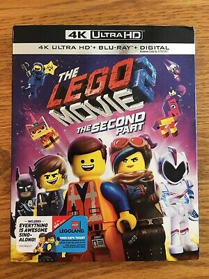 The Lego Movie 2 The Second Part (4K UltraHD Disc + Slipcover/Case)