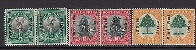 SOUTH WEST AFRICA-1926 Set of 3 Sg 41-43 MOUNTED MINT