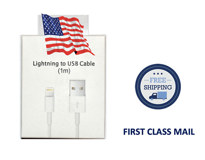 Genuine  OEM For Apple iPhone X 8 7 6S plus 5 Lightning USB Cable Charger 1M