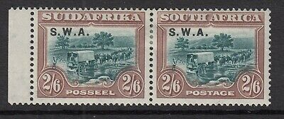 South West Africa 1927 2s6d Green & Brown SG65 Mtd Mint