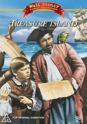 Disney Family Collection Treasure Island Region 4 DVD Good Condition