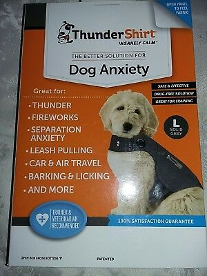 New large Thundershirt. Keep.your pet's calm ! Final sale price .
